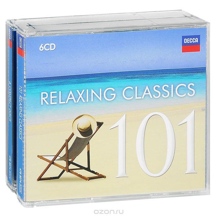 101 Relaxing Classics (6 CD)