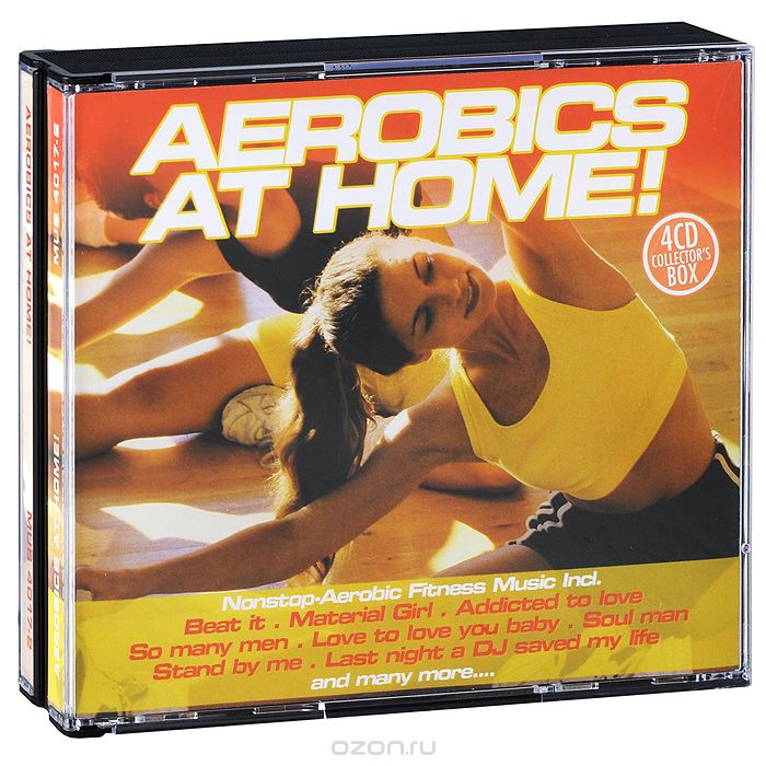 Aerobics At Home! (4 CD)