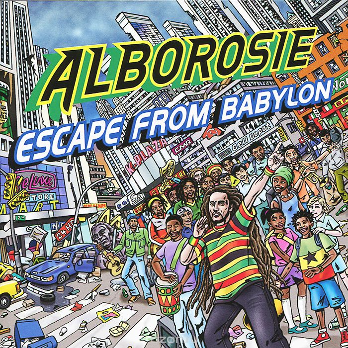 Alborosie. Escape From Babylon