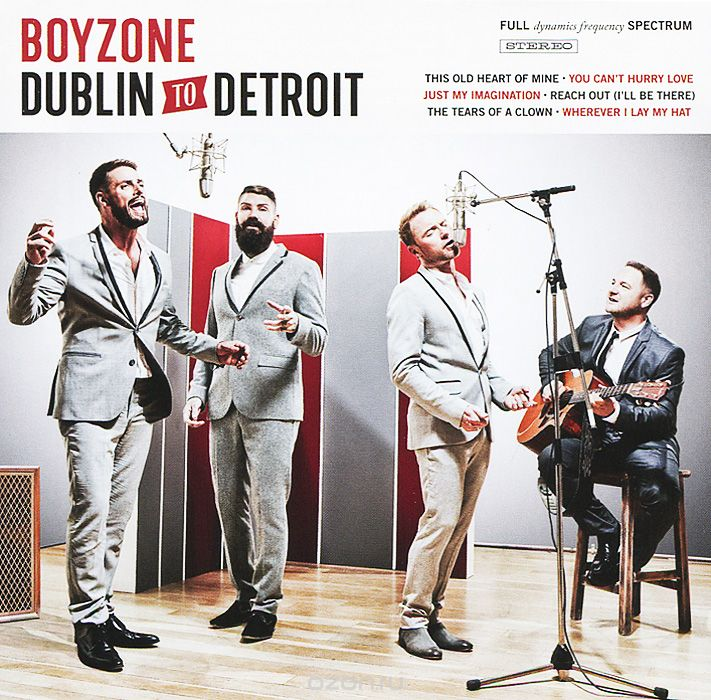 Boyzone. From Dublin to Detroit
