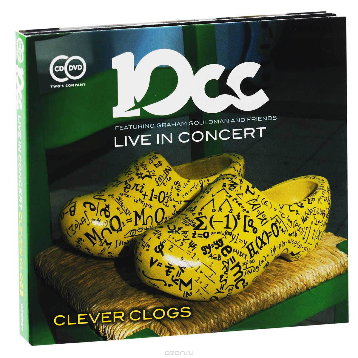10CC. Live In Concert. Clever Clogs (CD + DVD)